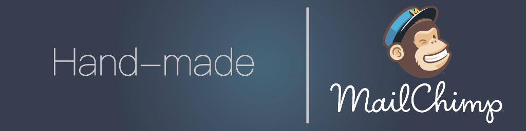 """Hand-made logo """"mailChimp"""""""