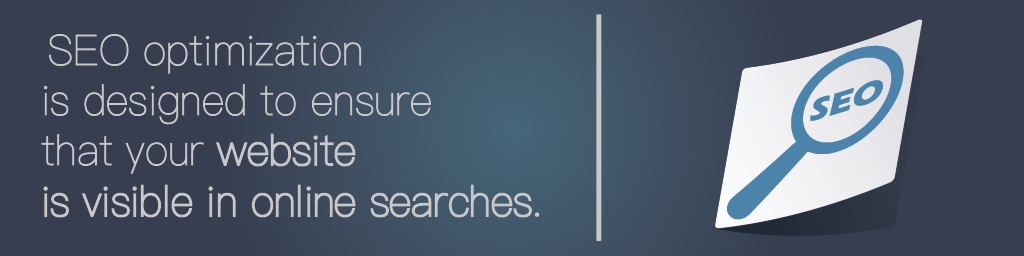 """A loupe with the word """"SEO"""" - one of the needs for hiring a website design company"""